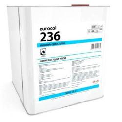 Клей для пробковых покрытий 236 Euroсol Contact Plus 3,8кг