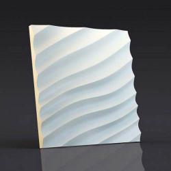 Гипсовые 3D панели Волна диагональная мелкая