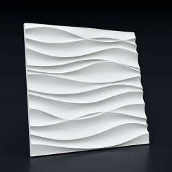 Гипсовые 3D панели Волна Аравийская