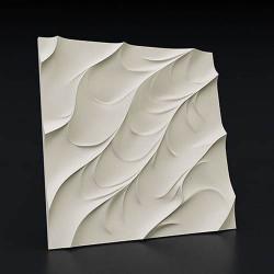 Гипсовые 3D панели Волна Каноэ