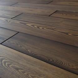 Массивная доска из лиственницы Trade Wood Каштан