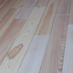 Массивная доска из лиственницы Trade Wood Белая
