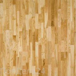 Паркетная доска PolarWood 3х-полосная Дуб Ливинг Глянец