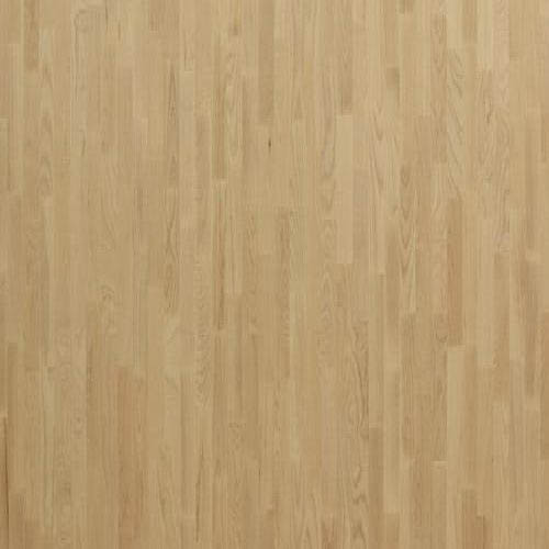 Паркетная доска PolarWood 3х-полосная Ясень Плутон Белый