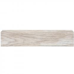 Плинтус пластиковый DekorPlast LL004 Аруша светло-серый 2500 х 67 х 25