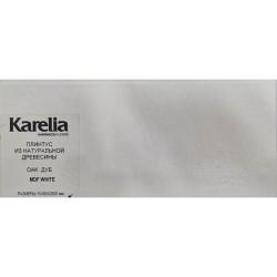 Плинтус МДФ по покраску Karelia White 80 х 15 х 2500