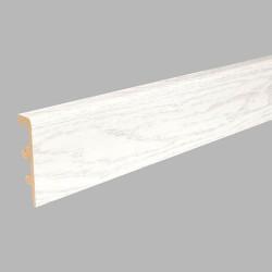 Плинтус полиуретановый Arbiton Integra 03 Снежный Ясень 2400 х 80 х 21