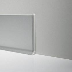 Торец правый к Алюминиевому плинтусу 60 мм