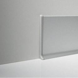 Торец левый к Алюминиевому плинтусу 60 мм