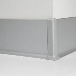 Угол наружный к Алюминиевому плинтусу 60 мм