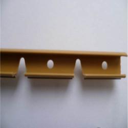 Планка для гибкого профиля Cezar низкая 1,5м (0-12 мм)
