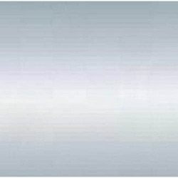 Порог-кант разноуровневый 39,4 мм х 4,2 мм 001 Серебро полиэфир