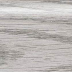 Порог-кант разноуровневый 39,4 мм х 4,2 мм R195 Серебристая сосна