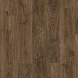 ПВХ плитка Quick Step LVT Living коллекция Balance Click (замковая) BACL40027 Дуб коттедж темно-коричневый