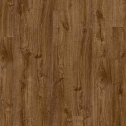 ПВХ плитка Quick Step LVT Living коллекция Pulse Click (замковая) PUCL40090  Дуб осенний коричневый