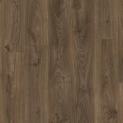 ПВХ плитка Quick Step LVT Living коллекция Balance Click PLUS (замковая) BACP40027 Дуб коттедж темно-коричневый
